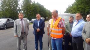 """Начало выездного семинара на км 10 автомобильной дороги Конышевка-Жигаево-""""Фатеж-Дмитриев"""""""